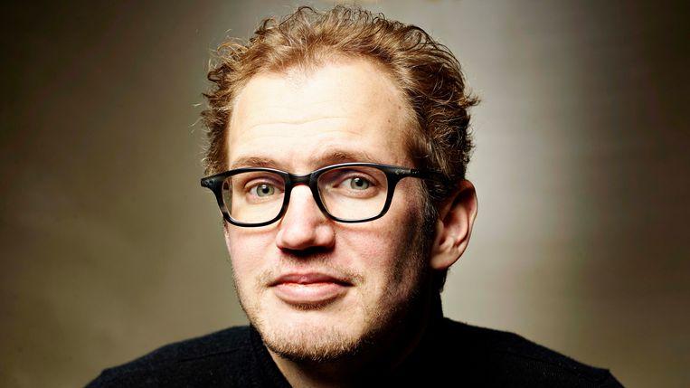 Cabaretier Johan Goossens. Beeld Merlijn Doomernik