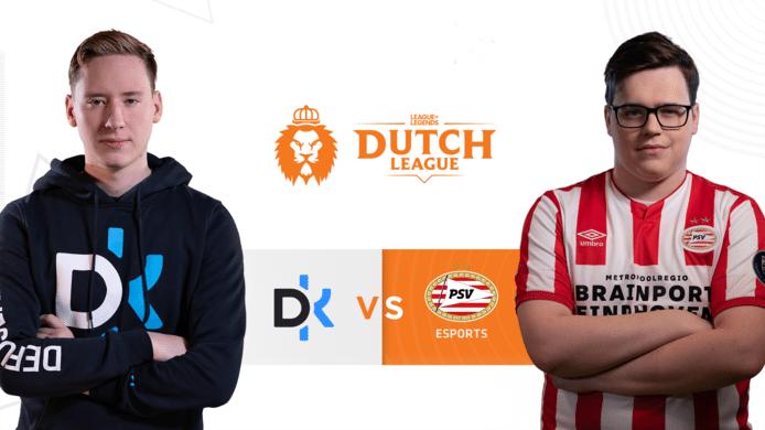 Defusekids en PSV Esports nemen het vanavond in de Dutch League tegen elkaar op.