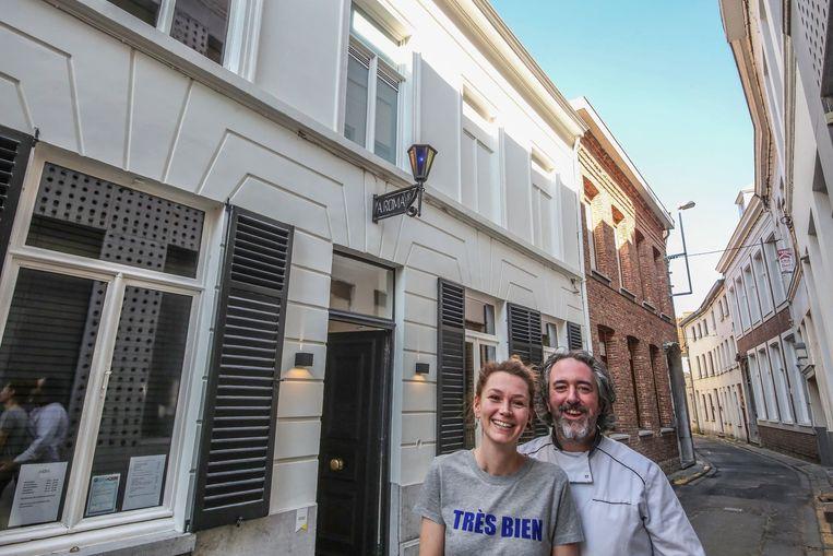 Julie Lybeer en Miguel Benoit zitten absoluut niet in zak en as. Ze koesteren de voorbije drie jaar in A.Roma en nemen op 18 mei met een goed gevoel afscheid van hun zaak.