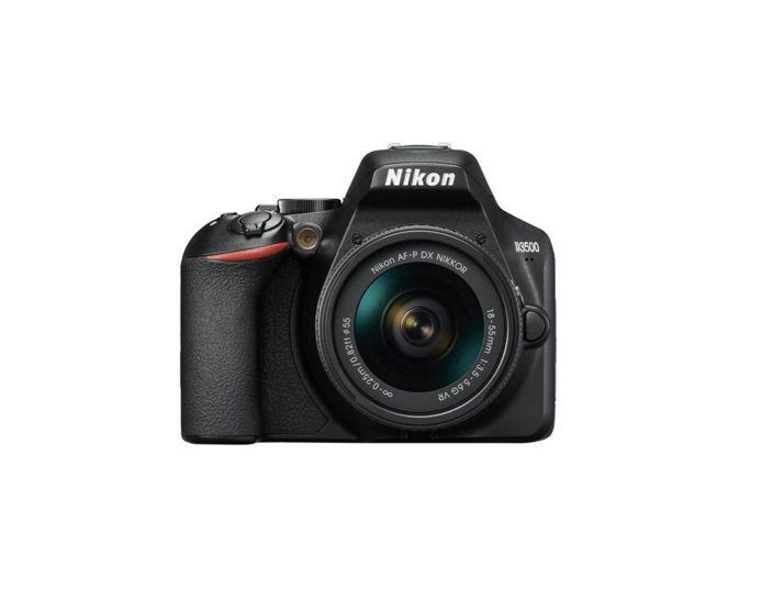 De Nikon D3500.