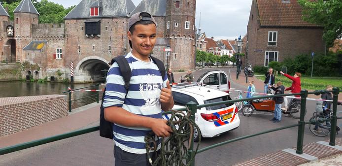 Justin is een fanatieke magneetvisser uit Amersfoort.