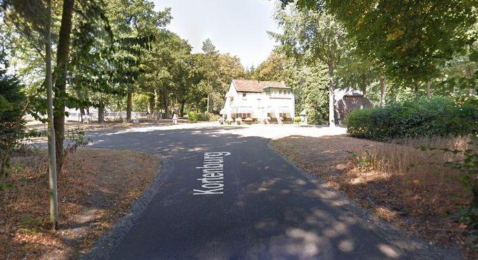 De plek waar het meisje werd geslagen in Wageningen.