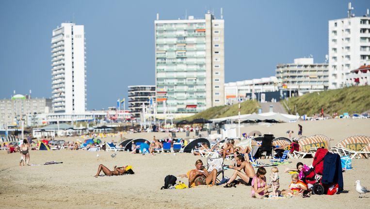 Het strand van Zandvoort. Beeld anp