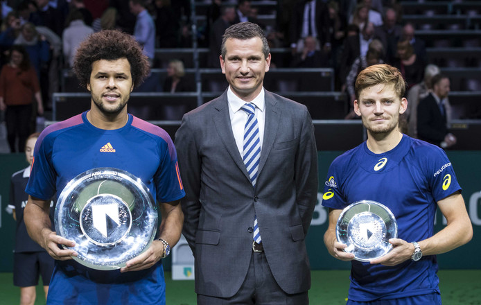 In 2017 verloor David Goffin de finale van Jo-Wilfried Tsonga.