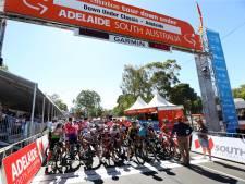 Kwik boven de 40 in Australië: Tour Down Under kort etappe in