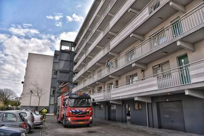Brand in appartement in Tuinzigtlaan in Breda