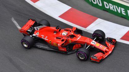 Vettel pakt pole in Azerbeidzjan, Vandoorne klokt pas zestiende tijd in kwalificaties