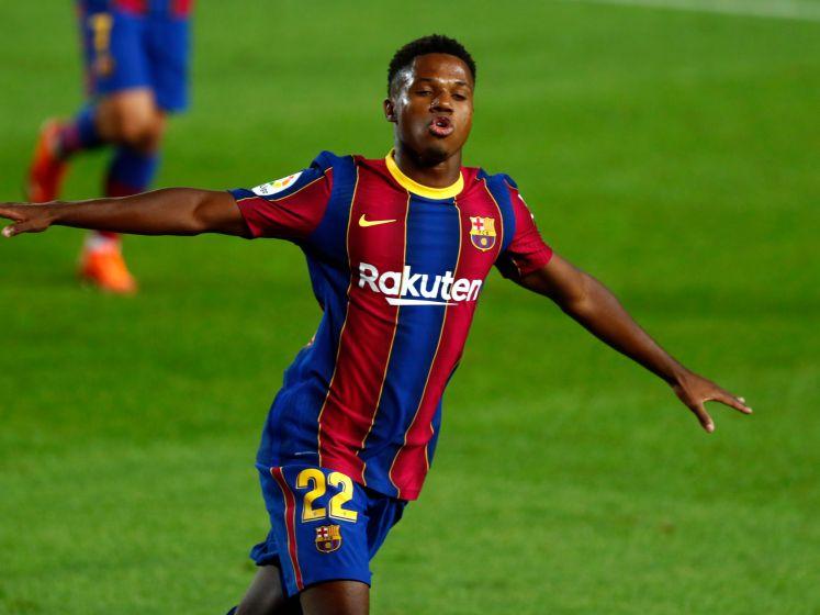 Ansu Fati bezorgt Koeman droomstart tegen Villarreal