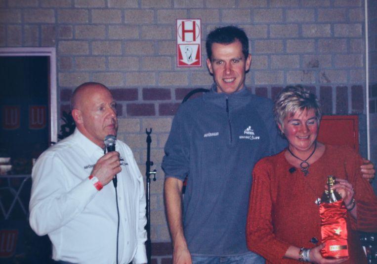 Maria samen met Hans Van Kasteren en Erwin Vervecken.