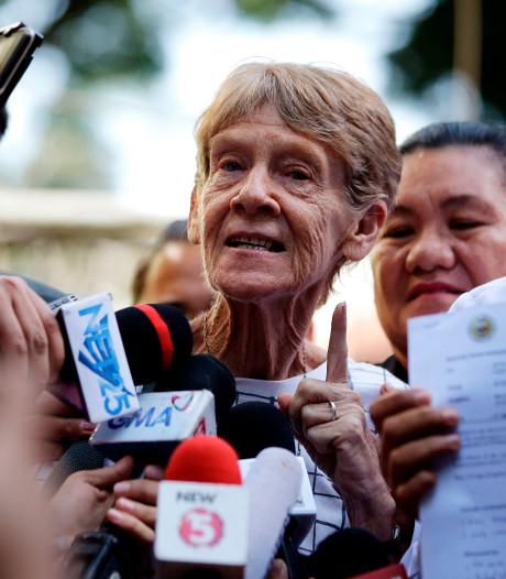 71-jarige demonstrerende non Filipijnen uitgezet wegens 'wangedrag'