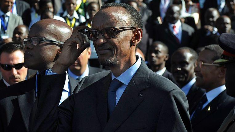 President Barack Obama telefoneerde naar zijn Rwandese ambtsgenoot Paul Kagame.