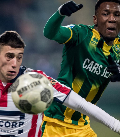 ADO in blessuretijd via penalty langs Willem II