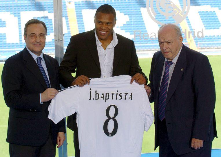 In zijn tijd bij Real Madrid.