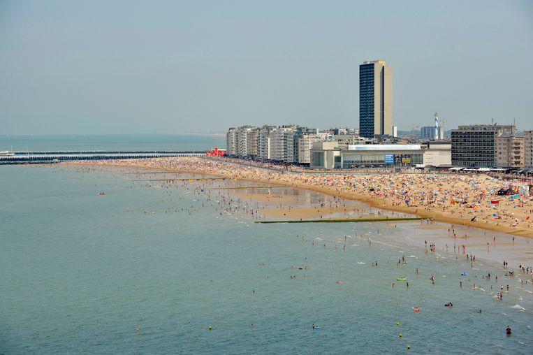 De botsing gebeurde op zo'n 17 kilometer voor de kust van Oostende.