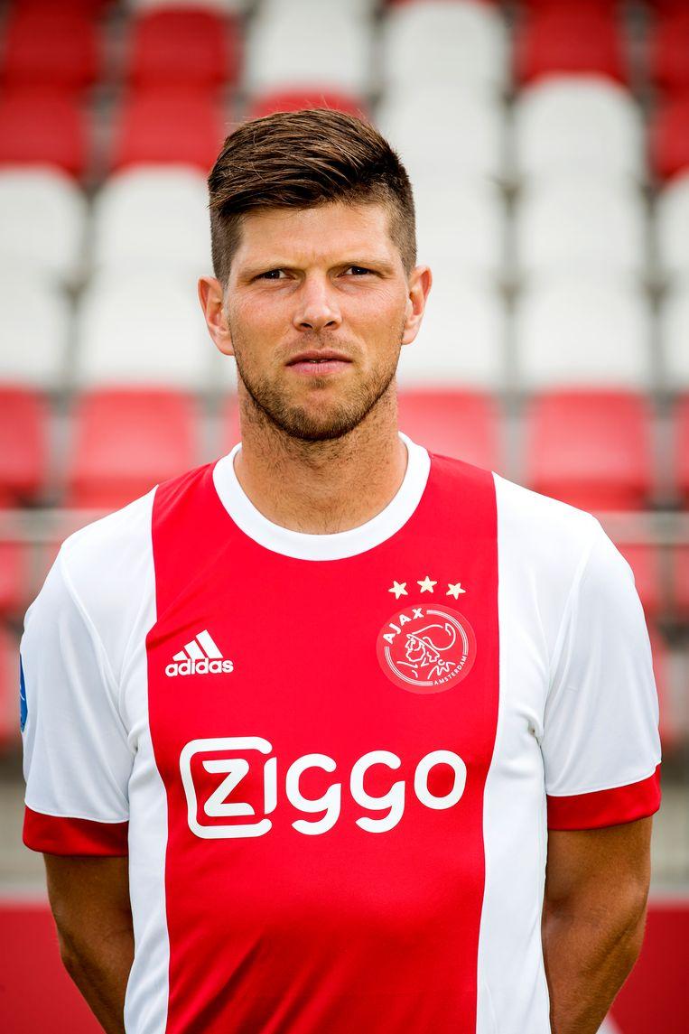 Het contract van Klaas Jan Huntelaar is formeel opgezegd door Ajax. Beeld ANP