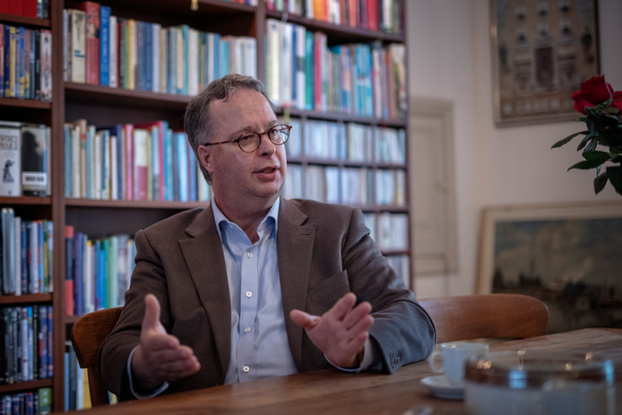 Afgetreden gedeputeerde Zuid Holland D66 Han Weber