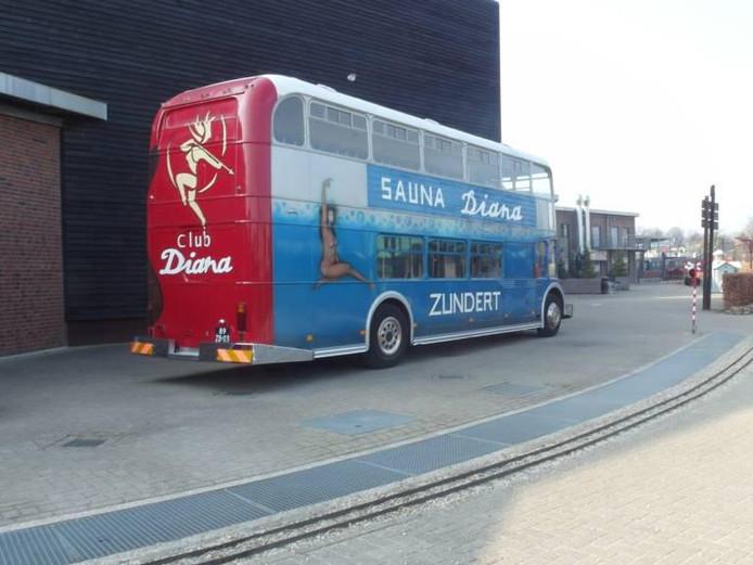De bus van Sauna Diana uit Zundert
