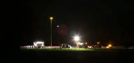 Flinke autobrand op A58 bij Oirschot, weg korte tijd afgesloten