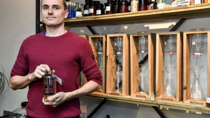 """Dries brengt Zeelse gin 'Praetwater' op de markt: """"Met onze Lab Brewer kan iedereen eigen gin bottelen"""""""