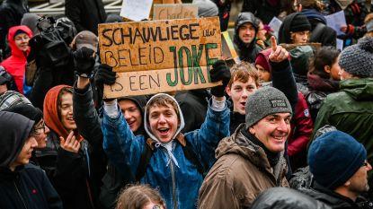 """Geen straf voor wie naar klimaatbetoging in Kortrijk trekt: """"Meld je ziek"""""""