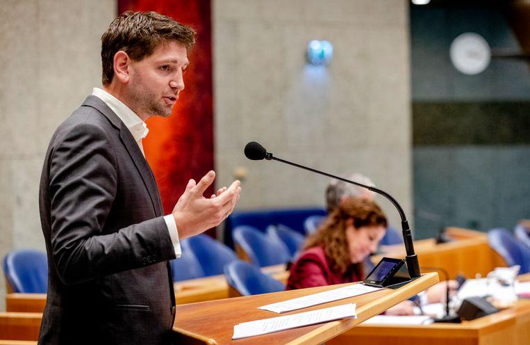 Jan Paternotte van D66. Beeld ANP