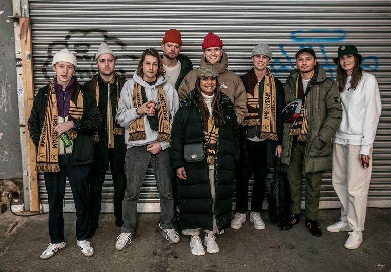 Het team van FreshCotton, de vetste en grootste streetwearwebshop van Nederland, nee, van de wereld. Beeld Amaury Miller