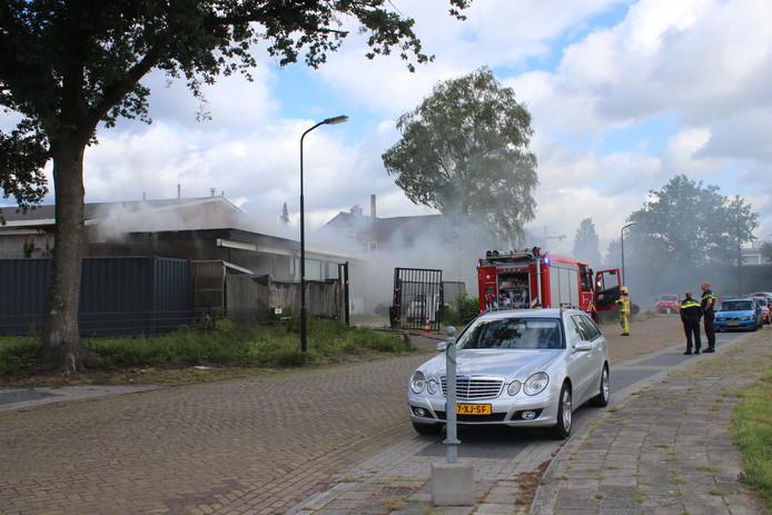De brandweer had de brand in Apeldoorn snel onder controle.