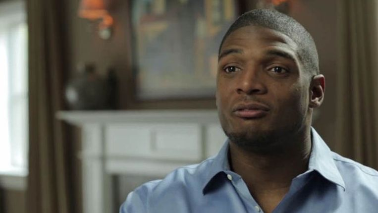 Michael Sam tijdens zijn interview met The New York Times. Beeld The New York Times