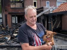 Hondje Jiji zit in brandend huis Wezep een uur lang onder de bank, maar overleeft vlammenzee: 'Een wonder'