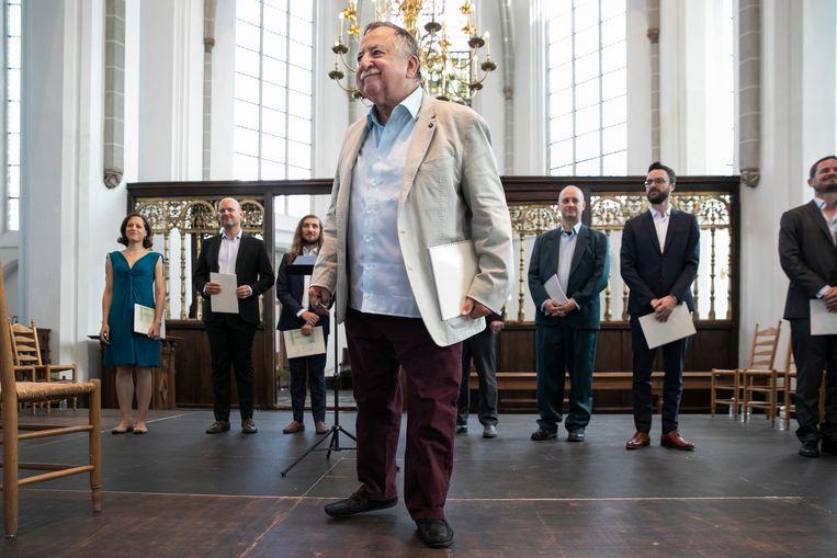 Paul Van Nevel treft met zijn Huelgas Ensemble de extravagante Napolitaanse ziel Beeld Marieke Wijntjes