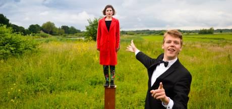 Studenten Bossche Koningstheateracademie treden op in Oisterwijk; met veiling