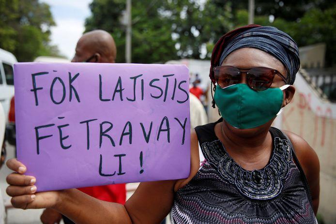 Protesten tegen Jean-Bart.