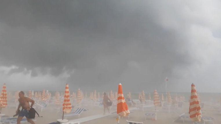 Italië krijgt te  maken met zwaar stormweer