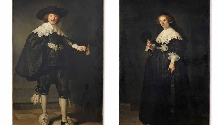 Marten en Oopjen, door Rembrandt. Beeld anp