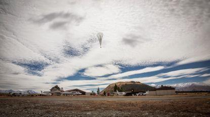 Kenianen krijgen internet van ballonnen