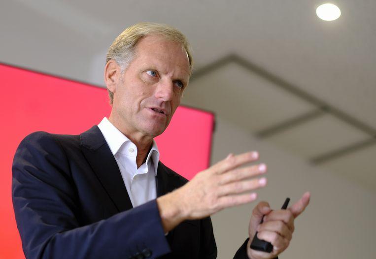 CEO van de Koninklijke Belgische Voetbalbond, Peter Bossaerts.