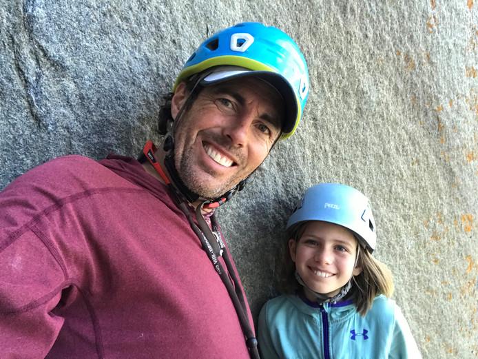 Selah Schneiter et son père Mike.