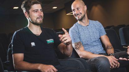 """Tom Boonen spreekt met Peter Sagan: """"Wielrennen is verslavend, maar het kan beter geen heel leven duren"""""""