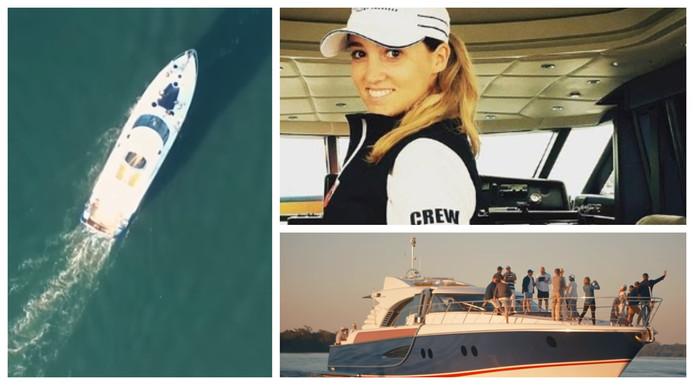 La navigatrice Cheya Handley