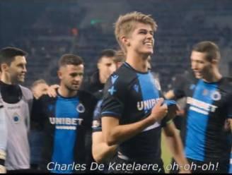 Fans bezingen De Ketelaere, Clement uitgelaten in kleedkamer: Club viert bekerfinale intens