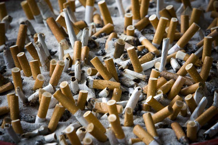 De FDA overweegt alleen een niet-verslavende hoeveelheid nicotine toe te staan in sigaretten. Beeld ANP XTRA