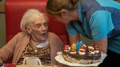 Anna De Baerdemaeker 106 jaar jong