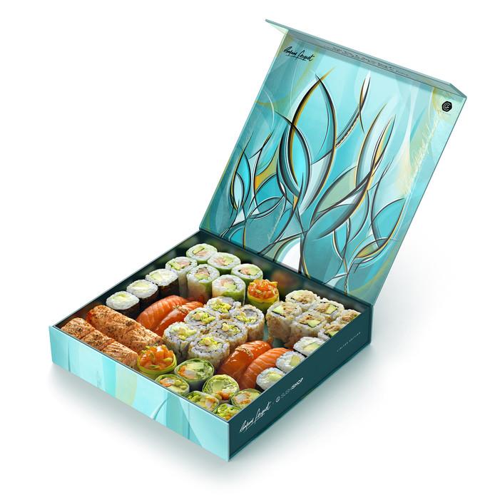 La Trees Box de Sushi Shop.