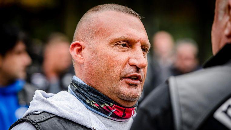 Van Rossum werd aangehouden in het onderzoek naar No Surrender-oprichter Klaas Otto Beeld anp