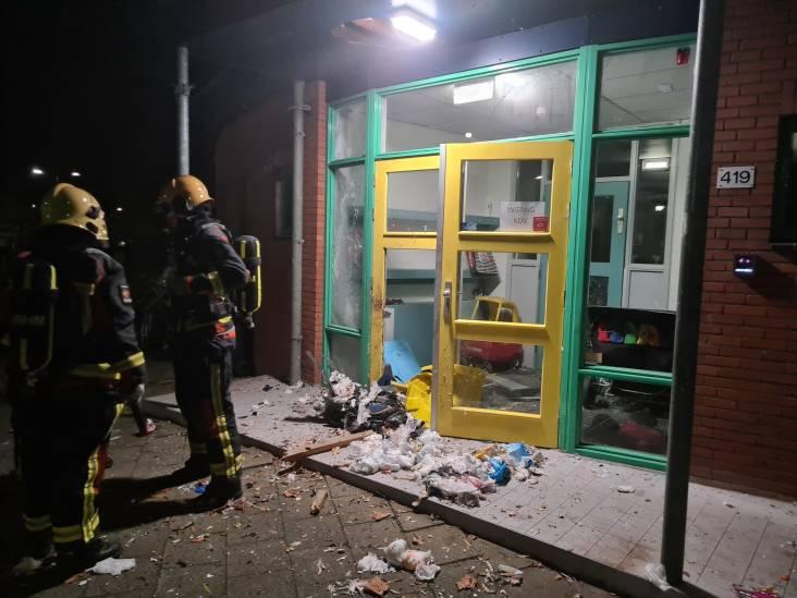 Ravage door vuurwerkbom bij kinderdagverblijf in Gouda: 'Heel ernstig, hiermee gaan ze een grens over'