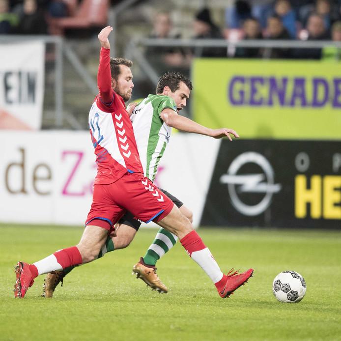 Sander van de Streek (l).