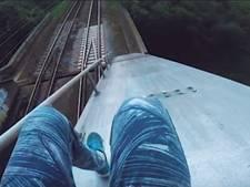 ProRail doet aangifte tegen beklimmer spoorbrug Culemborg