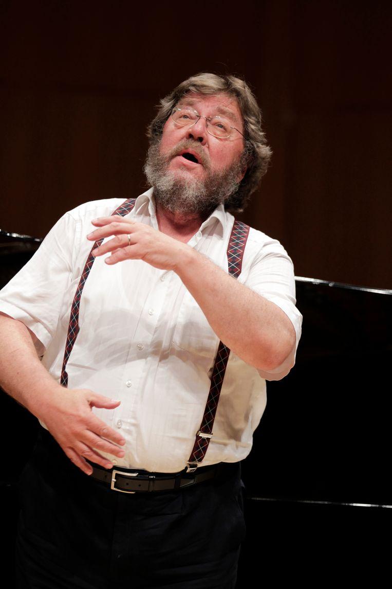 Bas-bariton Robert Holl. Beeld Getty