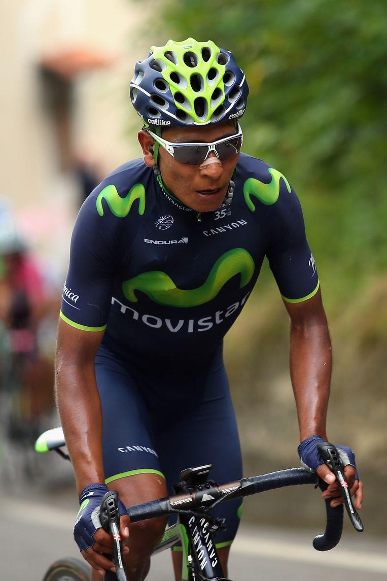 Nairo Quintana bleek de beste van de favorieten.
