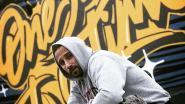 Matthias Schoenaerts maakt straatkunstwerk in Antwerpen